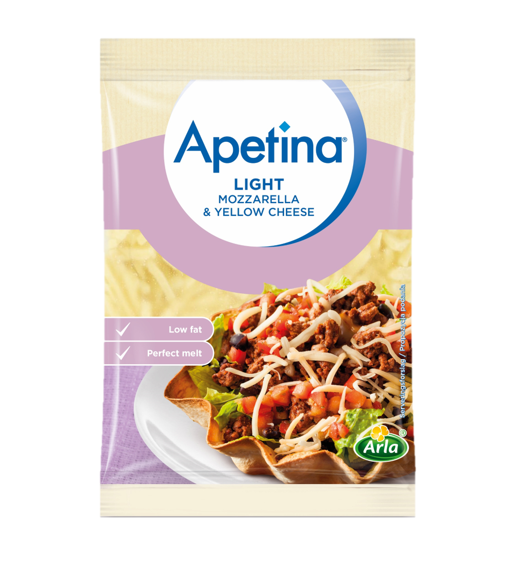 Apetina® Light Mozzarella & Yellow Cheese