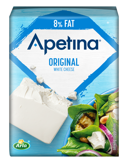 Apetina White cheese block light