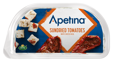 Apetina white cheese cubes in oil Sundried Tomatoes 100 g