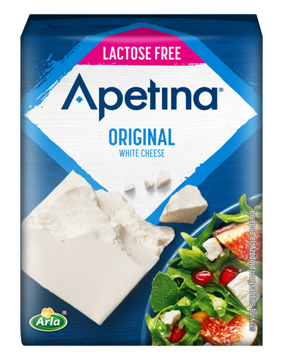 Apetina White cheese block lactose free