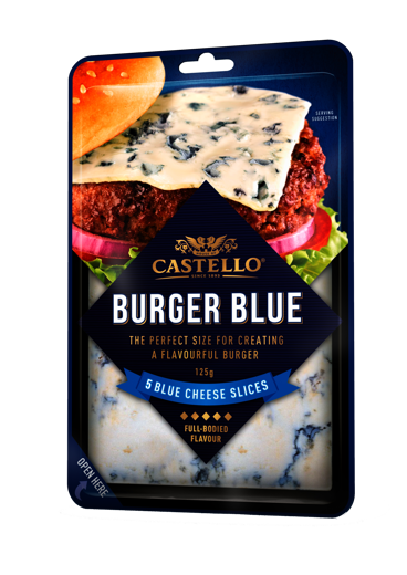 Castello Burger Blue 125 g