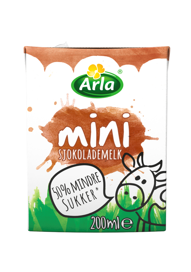 Arla Arla Mini Sjokolademelk 200ml