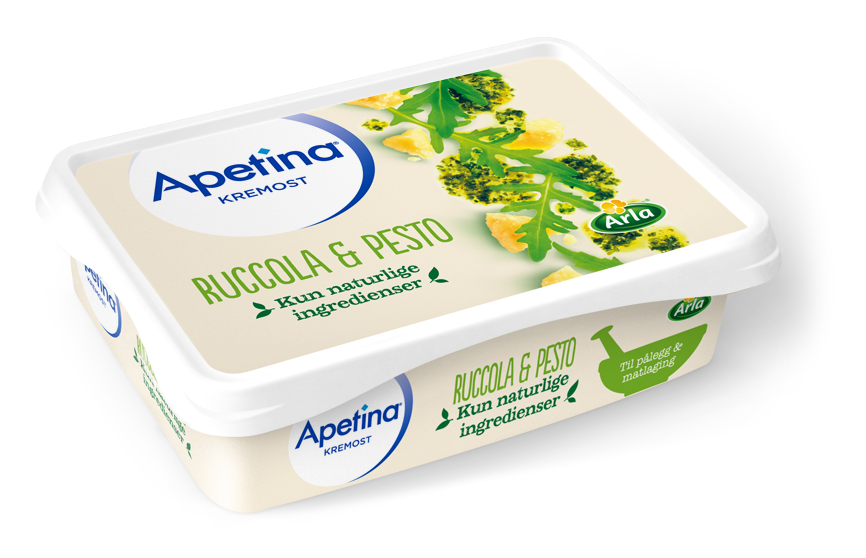 Apetina® Kremost Ruccola & Pesto 150g