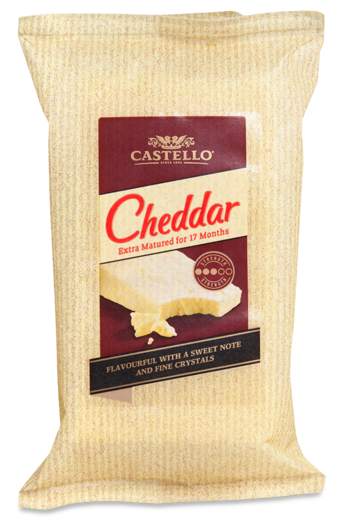 Extra matured cheddar