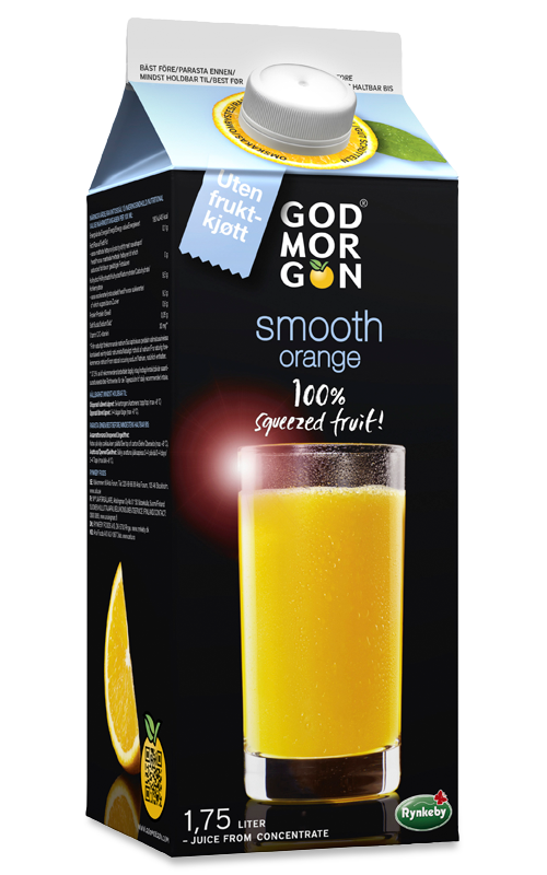 God Morgon Smooth Appelsin 1,75 liter